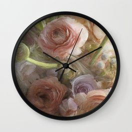 Florally Wall Clock