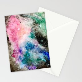 Obscured Space Stationery Cards