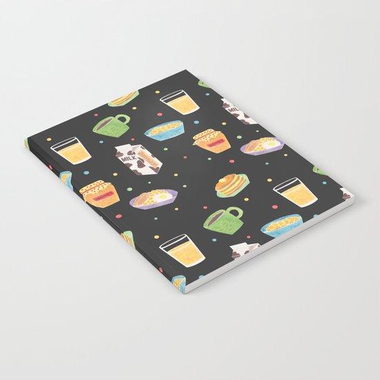 Yummy Breakfast Notebook