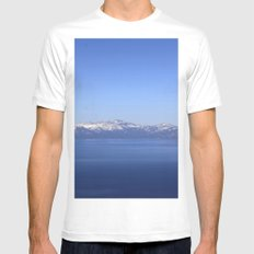 Mt Rose and Slide Mt Mens Fitted Tee White MEDIUM