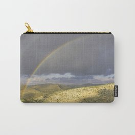 """If you want the RAINBOW you've got to deal with the rain"" Carry-All Pouch"