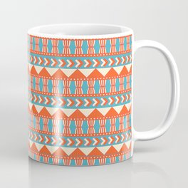 Mesopotamia ornament Tribal seamless pattern Coffee Mug