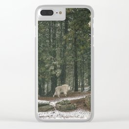 Still Moving Clear iPhone Case