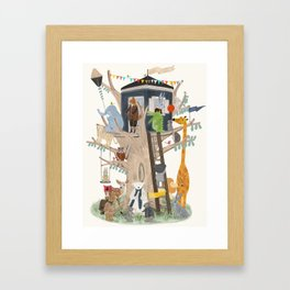 little playhouse Framed Art Print