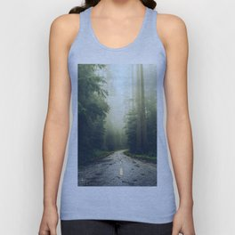 Redwood Forest Adventure - Nature Photography Unisex Tank Top