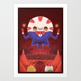 Peppermint Butler: Ruler of the Nightosphere Art Print