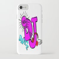 dj iPhone & iPod Cases featuring DJ by Christa Bethune Smith
