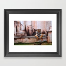 Laugh Along, Human Framed Art Print