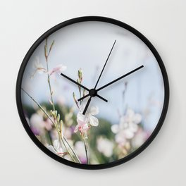 Flower Photography by frouke decat Wall Clock