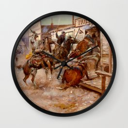 In Without Knocking Wall Clock