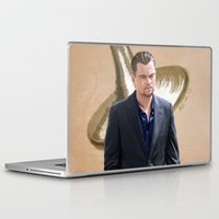 inception Laptop & iPad Skins featuring Inception - Cobb by Mel Hampson