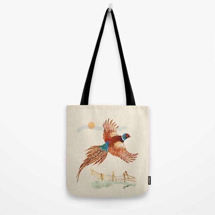male pheasant Tote Bag