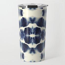 BOHEMIAN INDIGO BLUE Travel Mug