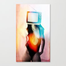 SEX ON TV - BLACKY by ZZGLAM Canvas Print