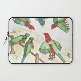 Birds of a Feather Flocking Together Laptop Sleeve