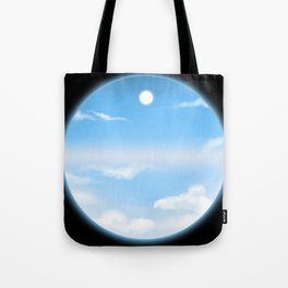 World Within Me - Blue Tote Bag