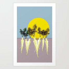 Parsnip Forest Art Print