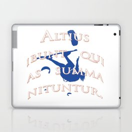 They Will Rise Highest Who Strive Highest Latin Quote Laptop & iPad Skin
