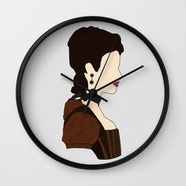 Milady De Winter Wall Clock