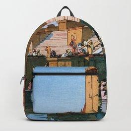 The Ghat At Varanasi - Digital Remastered Edition Backpack