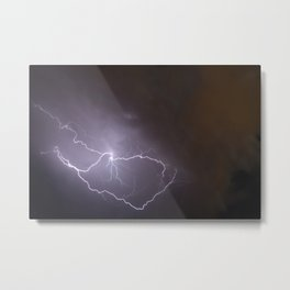Electric Heavens Metal Print