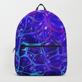 Blue Water Pattern Backpack