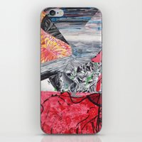 ariel iPhone & iPod Skins featuring ARIEL by Brandon Neher