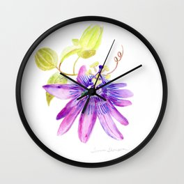 Bee Passionate by Teresa Thompson Wall Clock