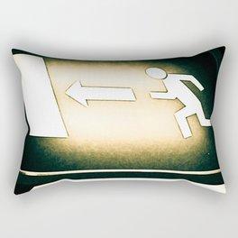 Exit Rectangular Pillow