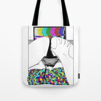 apollonia Tote Bags featuring asc 511 - L'extatique (The ecstatic) by From Apollonia with Love