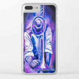 Trombonist Clear iPhone Case