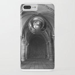 Silent Moment at Mont Saint-Michel iPhone Case