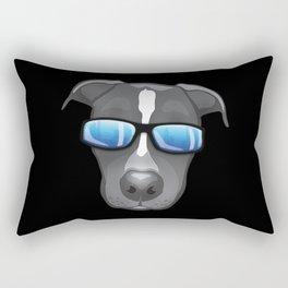 Ocho The Blue Nose Pitty Rectangular Pillow