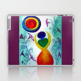Chakra Angel Laptop & iPad Skin