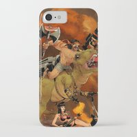 muscle iPhone & iPod Cases featuring Muscle Bro by Dave Collinson