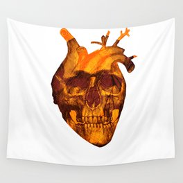 The head heart Wall Tapestry