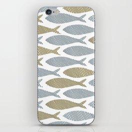shoal of herring iPhone Skin
