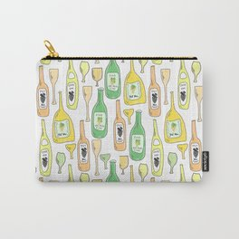 Light White Carry-All Pouch