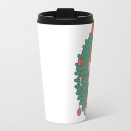 Hanging Through The Festive Season Travel Mug