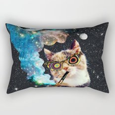 High Cat Rectangular Pillow