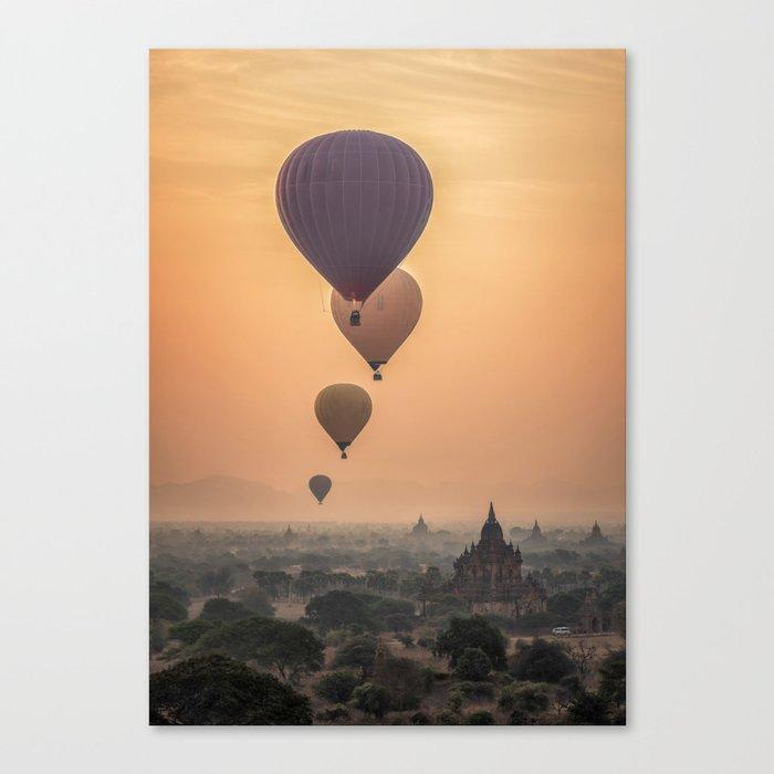 adventures in Asia Canvas Print