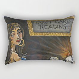 Tia the Tarot Card Reader Rectangular Pillow