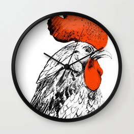 cock Wall Clock