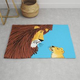 Listen To The Lion Rug