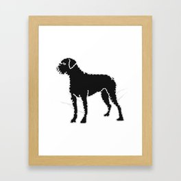 I have Connected the BOXER Doggy Dots! Framed Art Print