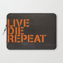 Edge of Tomorrow - #LiveDieRepeat  Laptop Sleeve