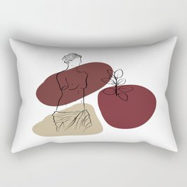 Antique Feeling #3 Rectangular Pillow