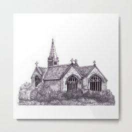 All Saints Parish Church Metal Print