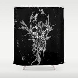 SAND SKULL Shower Curtain