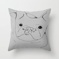 danny ivan Throw Pillows featuring Ivan by seekmynebula